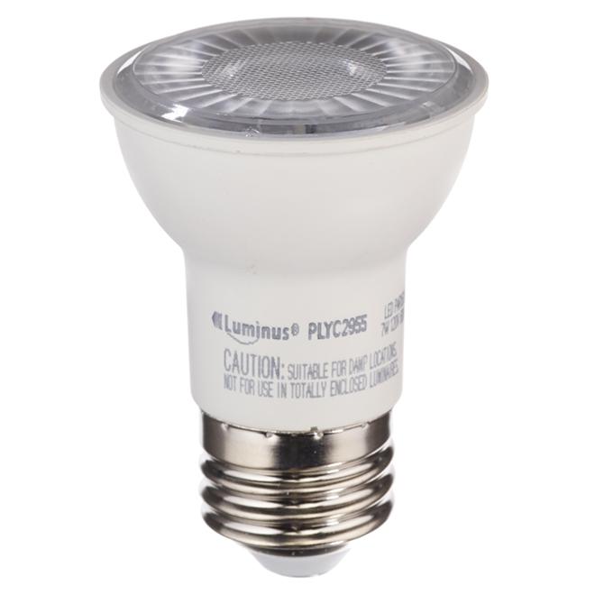Ampoule DEL PAR16 7,0 W, intensité variable, lumière du jour