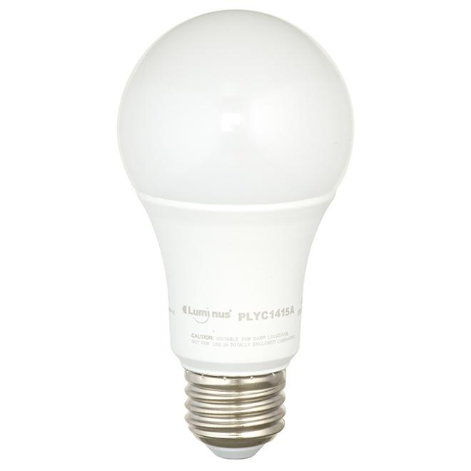 Ampoule DEL Luminus(MD) A19, 15 W, lumière du jour