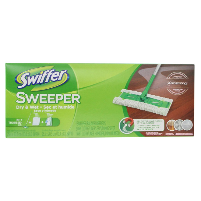 Ensemble de vadrouille «Swiffer»