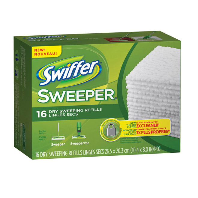 Recharge Vadrouille Swiffer