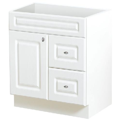 Meuble-lavabo à 1 porte et 2 tiroirs