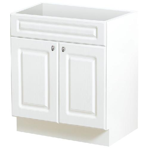 Meuble-lavabo à 2 portes