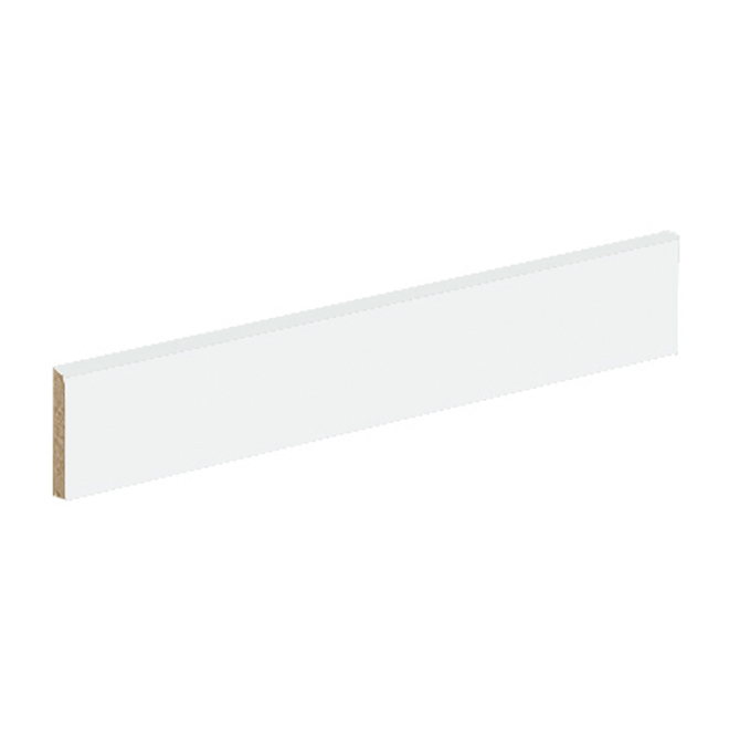 "Garniture en mélamine, 41 1/2"", blanc"