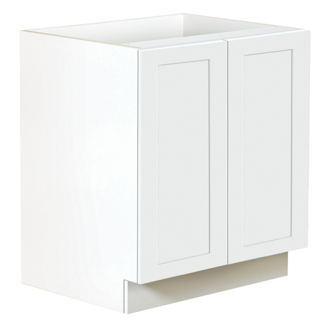Ebsu San Diego 2-Door Kitchen Cabinet - 30 - White TLB30-BLSD