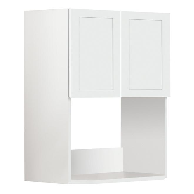 Armoire four à micro-ondes San Diego, 24'' x 30'', blanc