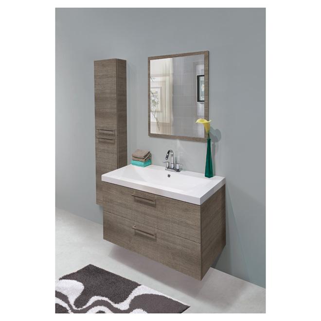 Meuble-lavabo suspendu au mur « Lakewood » -  Absinthe