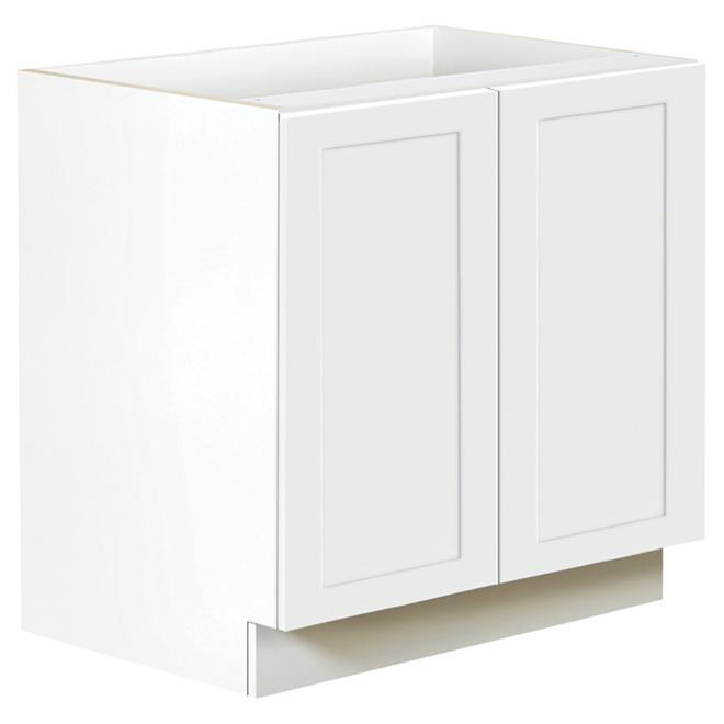 "San Diego Base Cabinet - 2 Doors - 36"" - White"