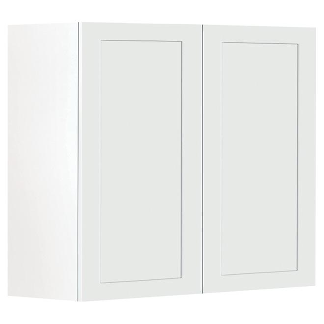 "Wall Cabinet - Sandiego - 2 Doors - 36"" - White"