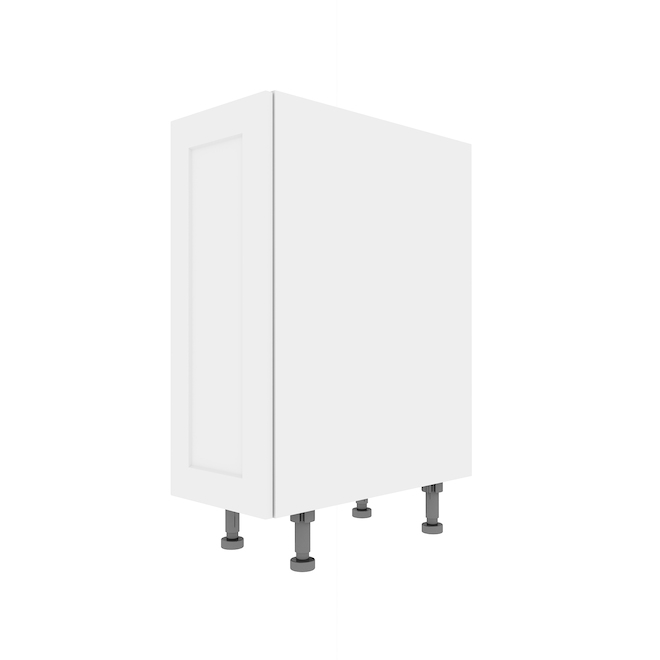 "Base Cabinet - Eklipse Collection - Perle - 12"" x 34 3/4"""