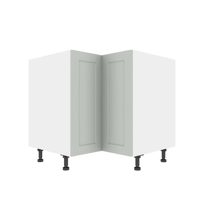 "Eklipse Corner Base Cabinet - Angelite - 36 1/4"" x 34 3/4"""