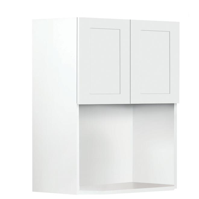 "Eklipse Microwave Cabinet - Perle - 23 15/16"" x 30 1/4"""