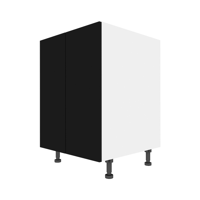 """Eklipse Base Cabinet - Onyx - 23 15/16"""" x 34 3/4"""""""