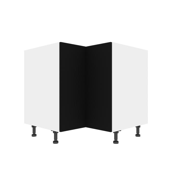 """Eklipse Corner Base Cabinet - Onyx - 36 1/4"""" x 34 3/4"""""""