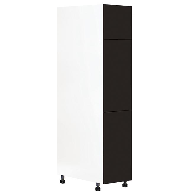 "Eklipse Pantry Kitchen Cabinet - Onyx - 15 1/8"" x 83 3/4"""