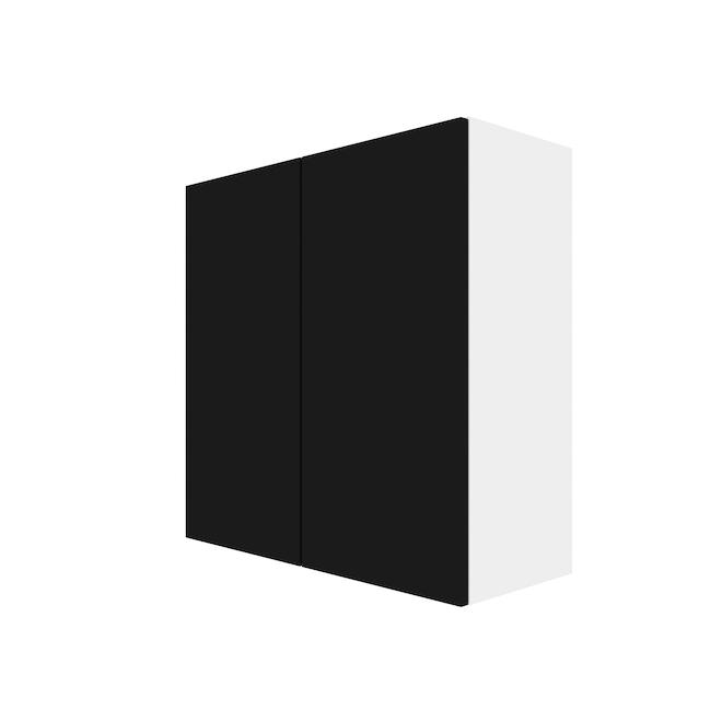 """Eklipse Wall Cabinet - Onyx - 30 1/4"""" x 30 1/4"""""""