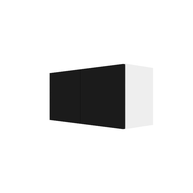 """Eklipse Wall Cabinet - Onyx - 30 1/4"""" x 15 1/8"""""""