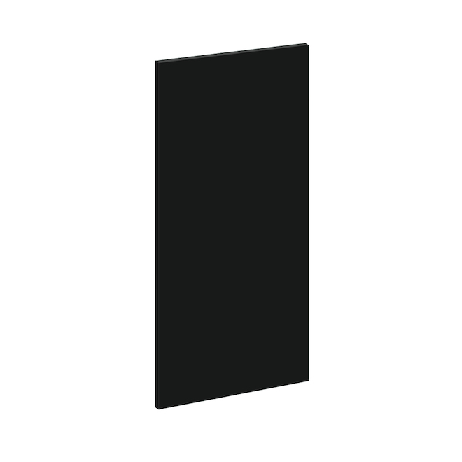 "Wall Cabinet Finishing Panel - Eklipse Collection - Onyx - 13 1/4"" x 30 1/4"""