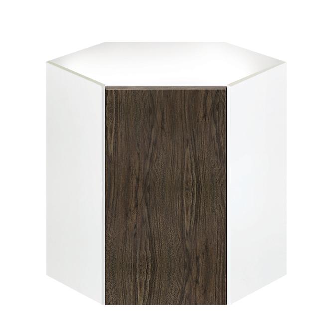 "Eklipse Corner Wall Cabinet - Saphir - 24 1/4"" x 30 1/4"""