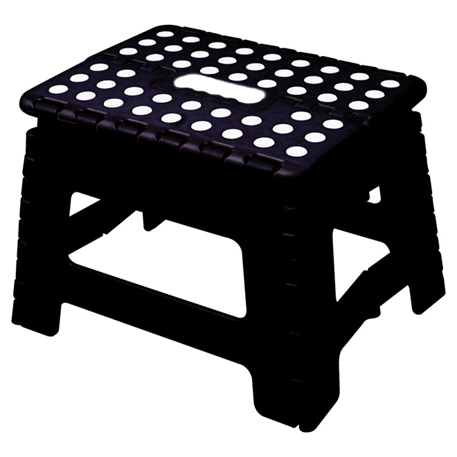 Awe Inspiring Mlm Foldable Step Stool Black Rstlv3Blg Rona Pdpeps Interior Chair Design Pdpepsorg