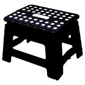 Foldable Step Stool - Black