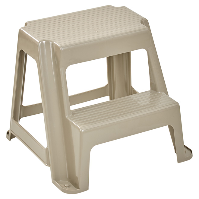 Tabouret-escabeau, 2 marches