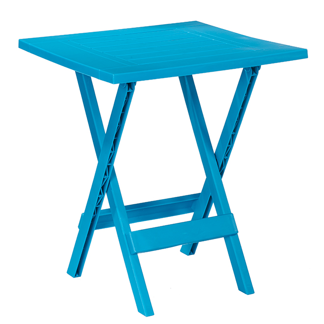 Patio Side Table - Adirondack - Folding - Teal