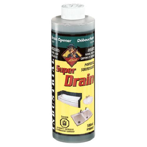 Produit de débouchage liquide drains et fosses septiques