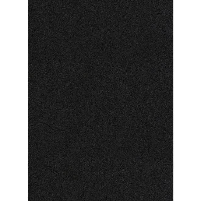 """Tapis utilitaire, 27"""" x 50', noir"""