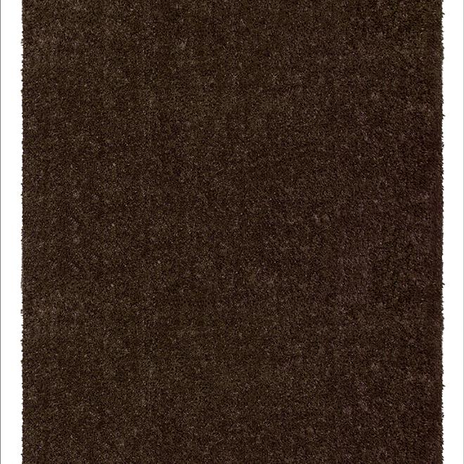 Tapis de gazon, 12' de largeur, brun