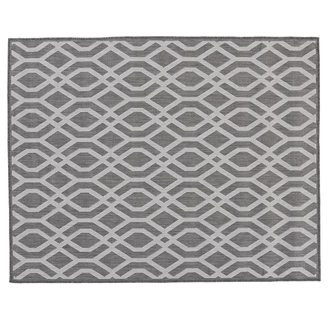 Fresco Indoor or Outdoor Mat - 5' X 7' - Anthracite MT1004599