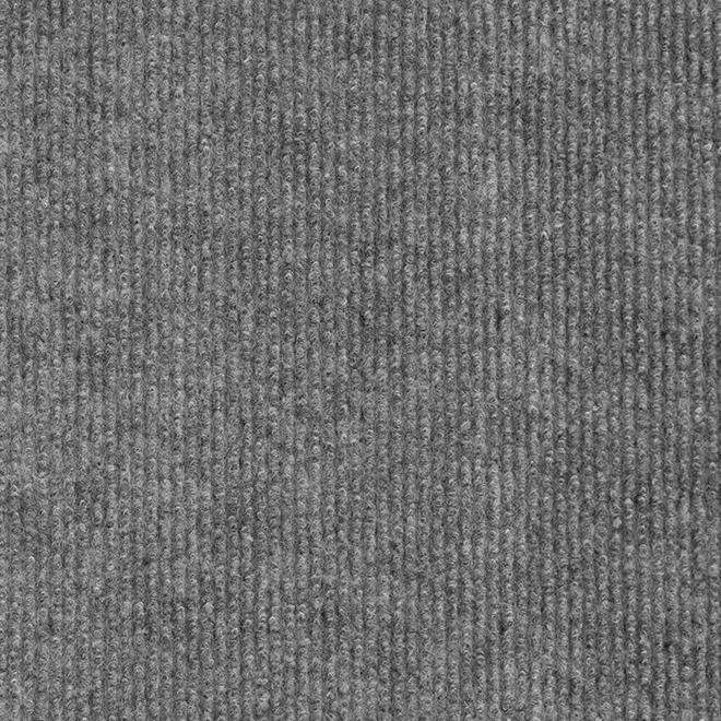 """Tapis d'intérieur/extérieur, 12"""" x 100', charbon"""