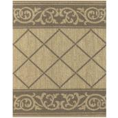 Multy Home Deco Runner - Nylon - 26-in Wide - 2-Tone Taupe