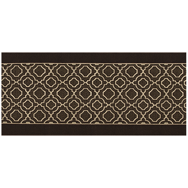 Multy Home Deco Runner - Polyester - 26-in Wide - 3-Tone Brown