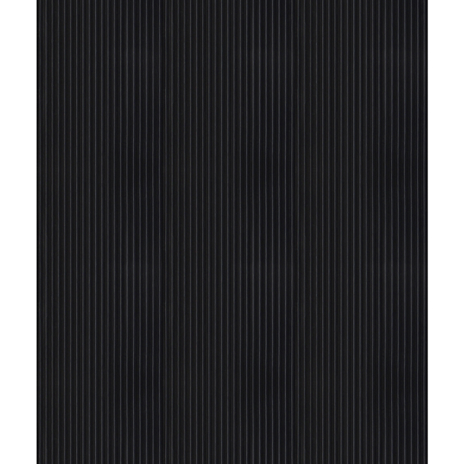 Tapis, Multy Home, Corugted, polyester, 27'' x 75', noir