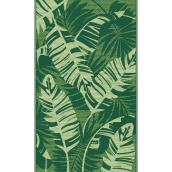 Multy Home Outdoor Area Mat - Leaves - 3-ft x 5-ft - Polypropylene - Green