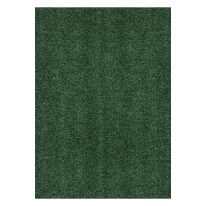 Multy Home Needlepunched Area Rug - 6-ft x 8-ft - Polyester - Green