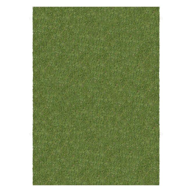 Tapis de gazon artificiel Multy Home, 5 pi x 7 pi, vert
