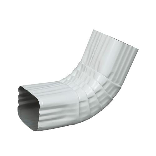 Coude avant « A » en aluminium,  blanc