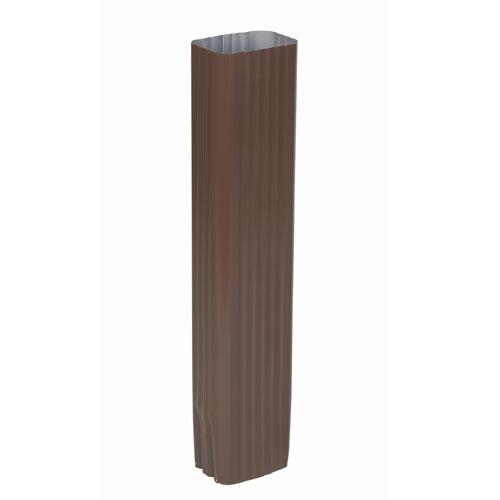"""Extension en aluminium pour tuyau de descente, 15"""", brun"""