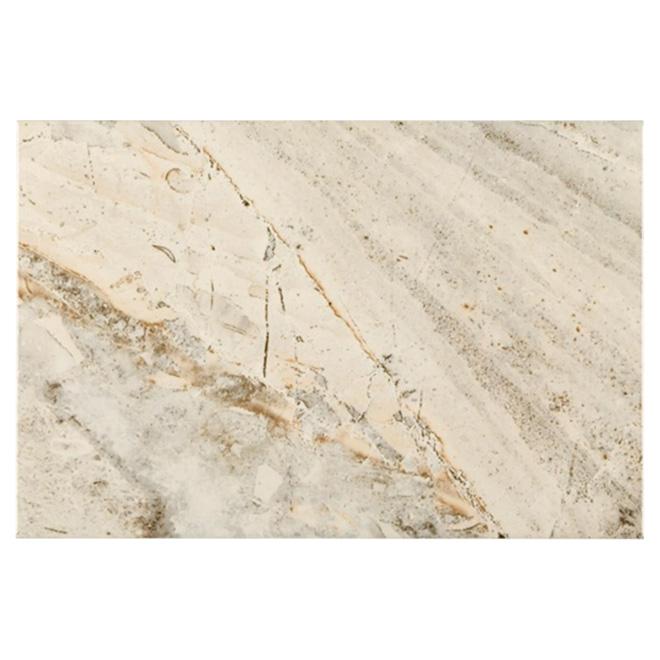 Tuiles de céramique « Kavola Grey », 8 po x 12 po, bte de 16