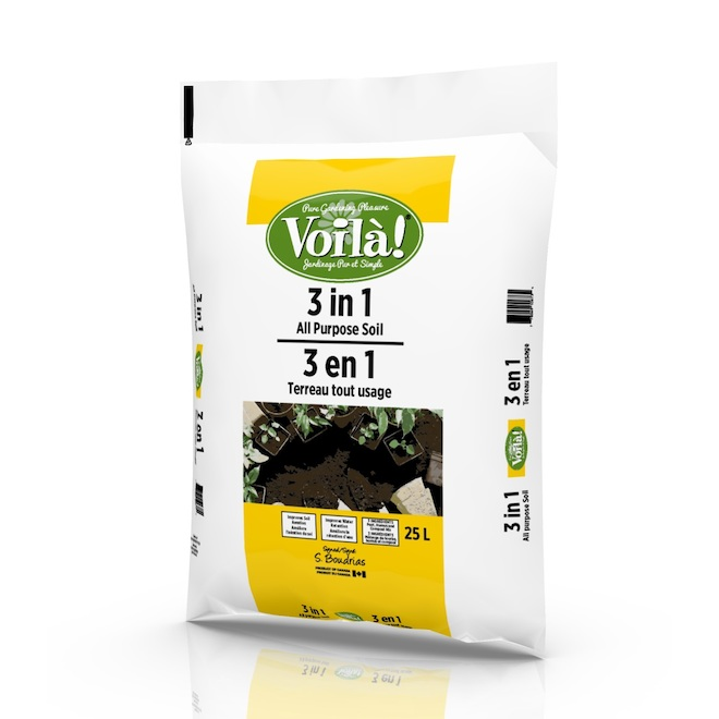"25-L ""Trio-Mix"" peat loam"