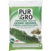 Cedar Fertilizer - 18-03-10 - 9kg