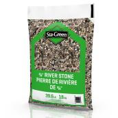 Pierre de rivières Sta-Green,  0,375 po, 39,6 lb