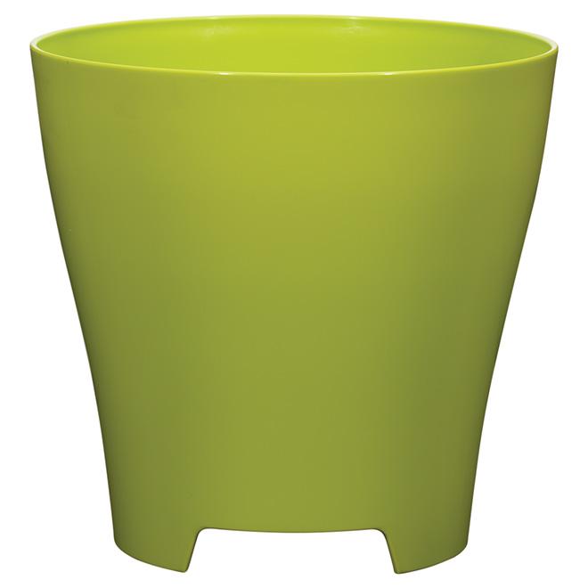 """Jardinière Luna, 12"""", vert lime"""