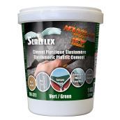Ciment plastique élastomère SEALFLEX, vert, 1 kg