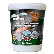 SEALFLEX Elastomeric Plastic Cement - Green, 1 kg