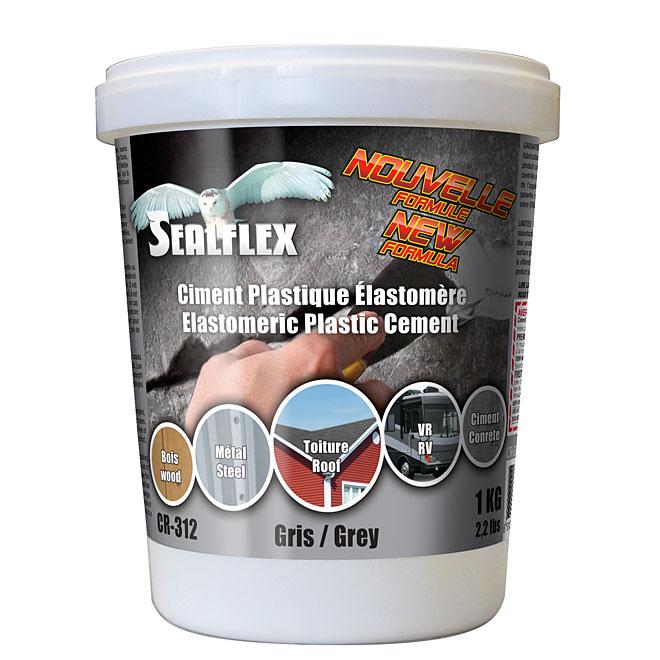 Ciment plastique