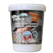 SEALFLEX Elastomeric Plastic Cement - Grey, 1 kg