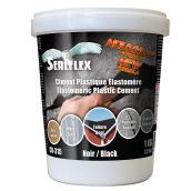 Ciment plastique élastomère SEALFLEX, noir, 1 kg