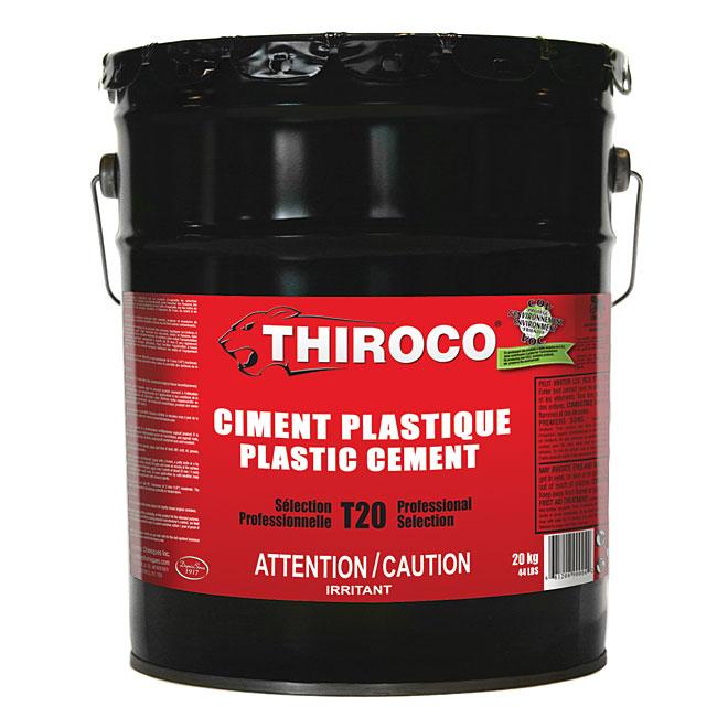 Ciment plastique de qualité professionnelle, 20 kg
